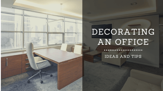 decorating an office