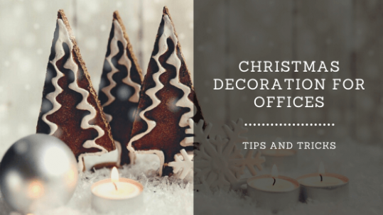 christmas decoration for offices